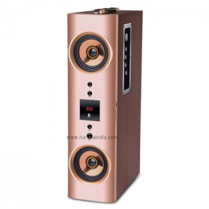 iBall Karaoke Booster Tower Speaker 2.1 With Wireless Mic