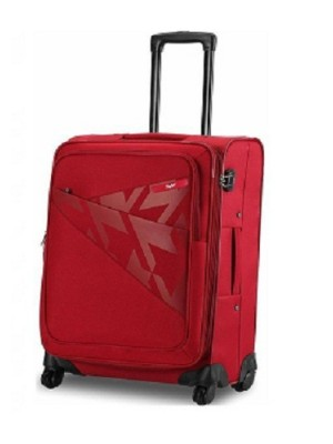 Skybag Strolly Venice Smart 4 Wheel Expandable 56CM Red