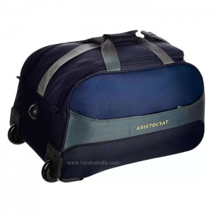 Aristocrat Duffle Strolley Bag Draft DFT 65 Blue