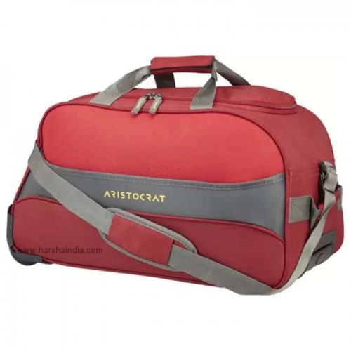 Aristocrat Duffle Strolley Bag Draft DFT 55 Red