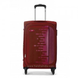 Skybag Luggage Canvas 4W Exp Strolly 57 Magenta