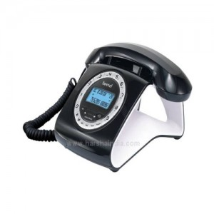 Beetel Corded Phone M73 Black & White