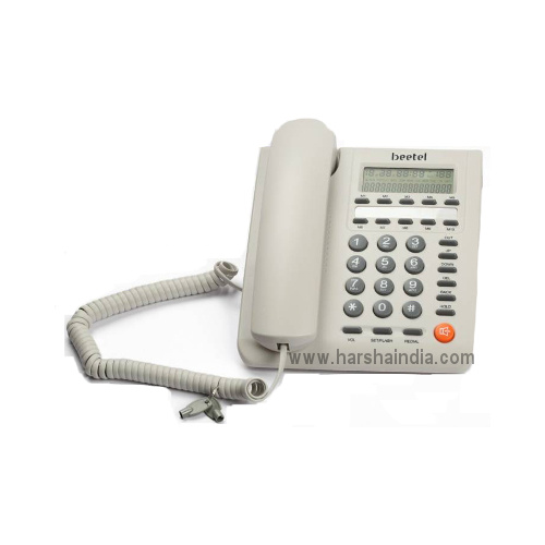 Beetel Corded Phone M59 Off White