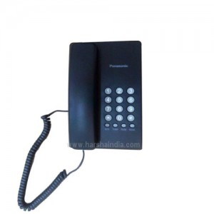 Panasonic Corded Phone KX-TS400SX Black