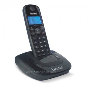 Beetel Cordless Phone X66N Black