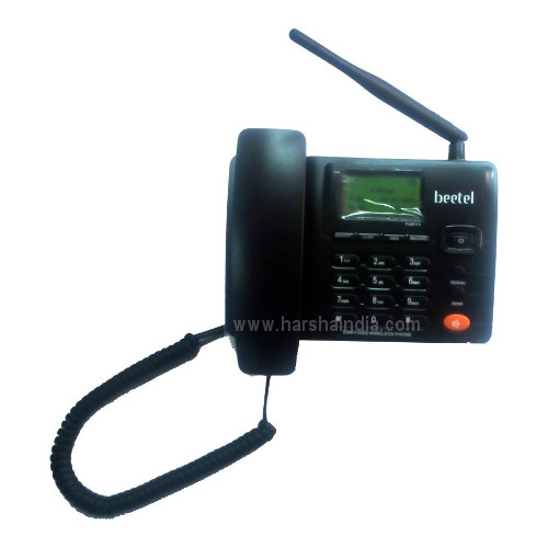 Beetel Corded Phone GSM Fixed Wireless F1 Black