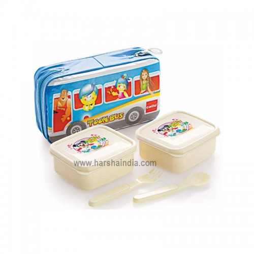 Cello Lunch Pack Soft Touch Aruba 2 Container