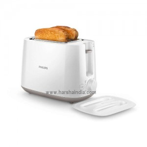 Philips Pop Up Toaster 2 Slot Metal HD2582/00