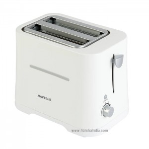 Havells Pop Toaster Crisp White 700W