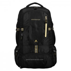 Aristocrat Luggage Back Pack Hike Rucksack Black