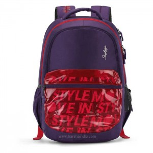Skybags Backpack Figo 02 Purple