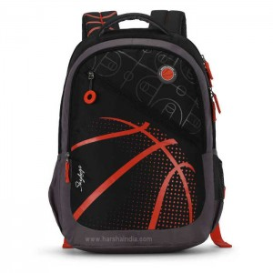 Skybags Backpack Figo 04 Black