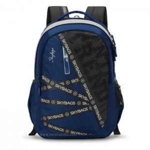 Skybags Backpack Figo Plus 01 Blue