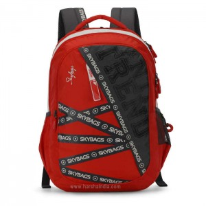 Skybags Backpack Figo Plus 01 Crimson