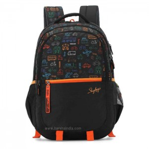 Skybags Backpack Figo Plus 07 Black