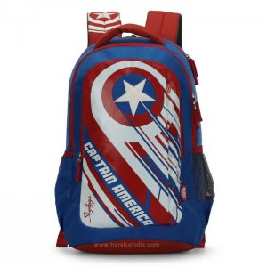 Skybags Backpack Marvel 09 Blue