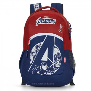 Skybags Backpack Marvel 10 Red