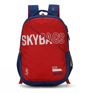 Skybags Backpack Figo Extra 03 Red