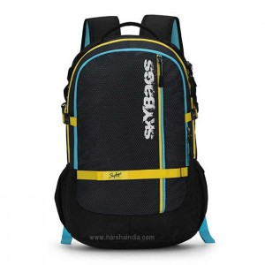 Skybags Backpack Herios Plus 03 Black