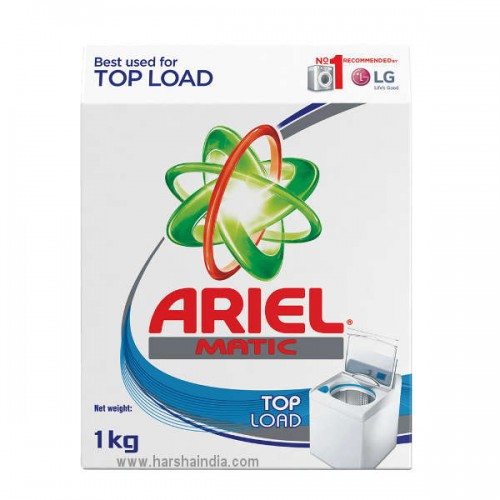 Ariel Detergent Powder Matic Top Load 1KG