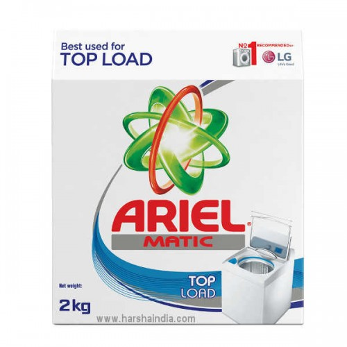 Ariel Detergent Powder Matic Top Load 2KG