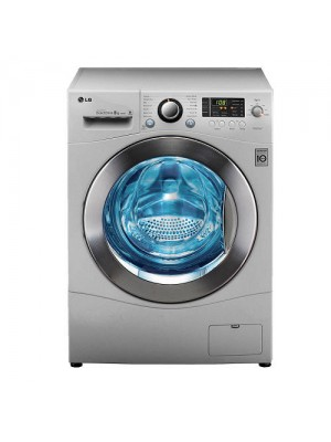 LG Washing Machine Auto Front Loader Tumble Wash F1496TDP24 8.0KG Silver