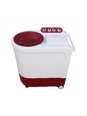 Whirlpool Washing Machine Semi Twin Tub Ace 8.2 Royale 8.2KG Coral Red