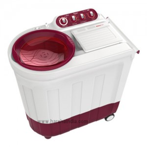Whirlpool Washing Machine Semi Twin Tub Ace 8.0 Turbo Dry 8.0KG Coral Red