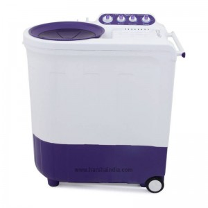 Whirlpool Washing Machine Semi Twin Tub Ace 8.5 Turbo Dry 8.5KG Coral Purple