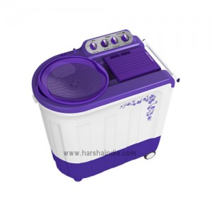 Whirlpool Washing Machine Semi Twin Tub Ace 7.5 Turbo Dry 7.5KG Flora Purple