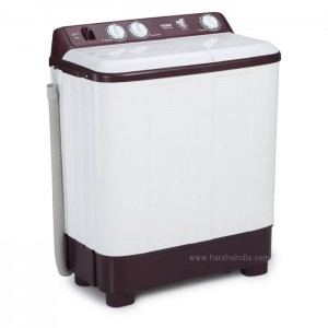 Haier Washing Machine Semi Twin Tub HTW62-187BO 6.2KG