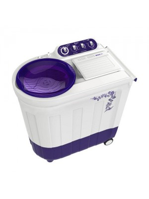 Whirlpool Washing Machine Semi Twin Tub Ace 8.2 Turbo Dry 8.2KG Floral Purple