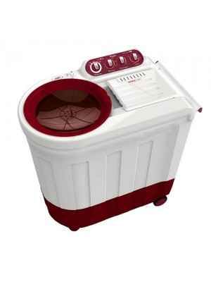 Whirlpool Washing Machine Semi Twin Tub Ace 8.2 Turbo Dry 8.2KG Coral Red