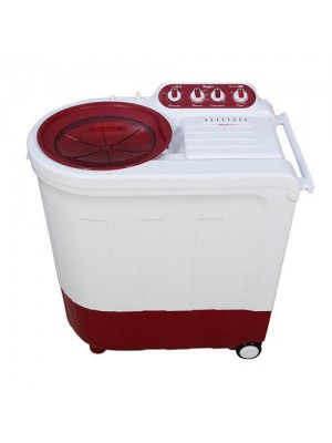 Whirlpool Washing Machine Semi Twin Tub Ace 7.0 Turbo Dry 7.0KG Coral Red
