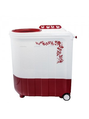 Whirlpool Washing Machine Semi Twin Tub Ace 8.5 Turbo Dry 8.5KG Coral Red