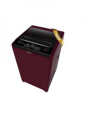 Whirlpool Washing Machine Auto Top Loader Royale 6512SD Wine Chrome 6.5KG