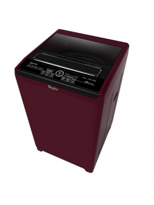 Whirlpool Washing Machine Auto Top Loader Royale 6212SD Wine Chrome Tinted 6.2 KG