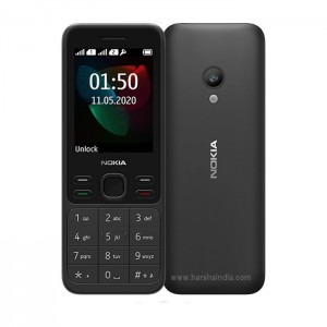 Nokia Cell Phone 150 DS 2020 Black