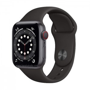 Apple Watch Series 6 GPS 40mm Space Gray Aluminium Case With Black Sport Band MG133HN/A