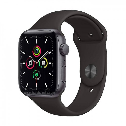 Apple Watch Series Se GPS 44mm Space Gray Aluminium Case With Black Sport Band MYDT2HN/A