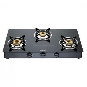 Bajaj Gas Stove Glass Top 3 Burner GP6 450501