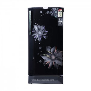 Godrej Refrigerator Direct Cool 190 Rd Edgepro 205D 43 TAI Pearl Black