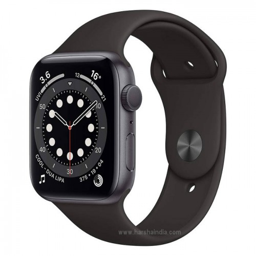 Apple Watch Series 6 GPS 44MM Space Gray Aluminium Case With Sport Band M00H3HN/A