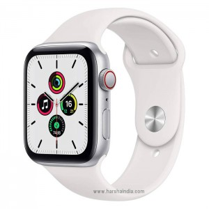 Apple Watch Series SE GPS+Cellular 44MM Silver White Sport Band MYEF2HN/A