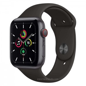 Apple Watch Series SE GPS+Cellular 44MM Space Grey Black Sports Band MYF02HN/A