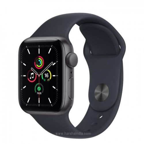 Apple Watch Series SE GPS 40mm Space Gray Aluminium Case With Black Sport Band MYDP2HN/A