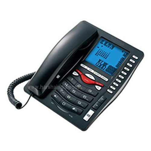 Beetel Caller ID Phone M75N Black